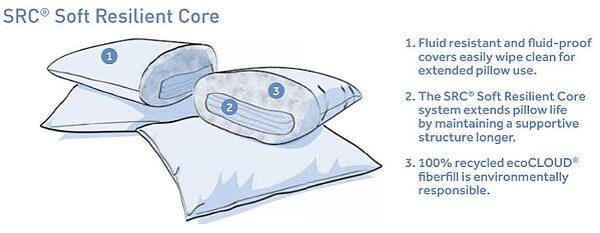 Pillow Cutaway